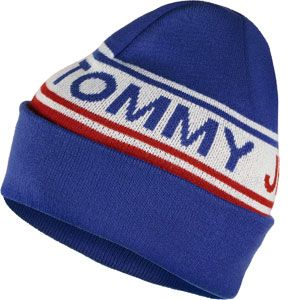 Tommy Jeans Bold Logo bonnet bleu