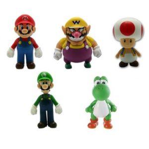 Figure de collection Super Mario 13 cm (modèle aléatoire)