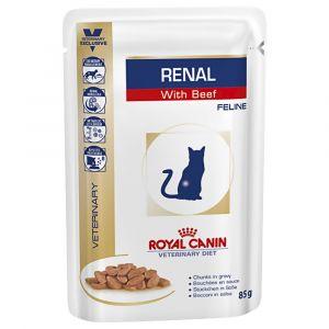 Royal Canin Renal Sacs Boeuf pour Chat 12 sachets