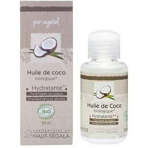 Laboratoire du Haut-Segala Huile de coco biologique 50 ml