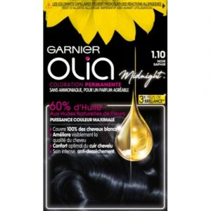 Garnier Olia - Coloration Cheveux Black Sapphire 1.10