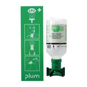 Plum Station de douche oculaire avec fixation murale