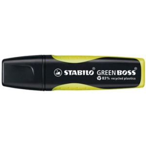 Stabilo Green Boss Jaune - Surligneur