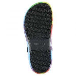 Crocs Sabots Bistro Graphic Clog - Black / Multi - EU 45-46