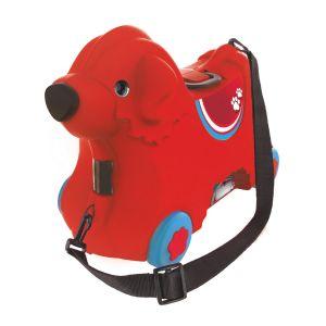 Simba Toys BIG Valise porteur Bobby rouge