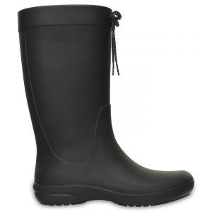 Crocs Freesail Rain Boot Women, Femme Bottes, Noir (Black), 36-37 EU