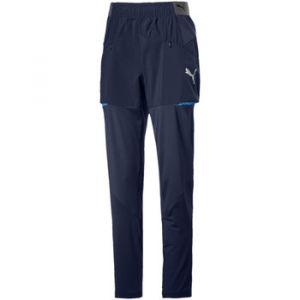 Puma Jogging enfant Pantalon junior OM 2018/19 Noir - Taille 10 ans,12 ans,14 ans