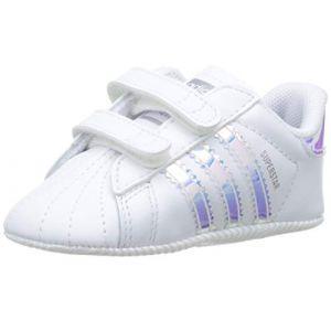Adidas Chaussures enfant SUPERSTAR CRIB blanc - Taille 17,18,19,20,21