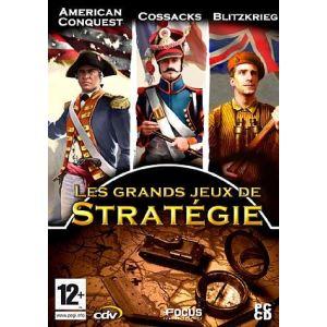 Les Grands Jeux de Stratégie : Cossacks : European Wars + American Conquest + Blitzkrieg [PC]