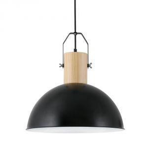 Faro Margot - Suspension décorative en métal et bois