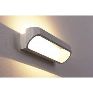 Helestra Applique d'extérieur LED Onno 30 cm blanc mat