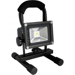 Lumihome Projecteur LED rechargeable 10W blanc froid