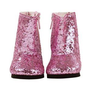 Gotz Bottes, glittery pink, 42 a 46 cm