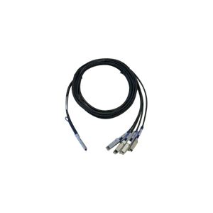Cisco QSFP-4SFP10G-CU3M= - Câble réseau QSFP/SFP m/m 3 m