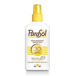 Spray bronzant protecteur SPF30