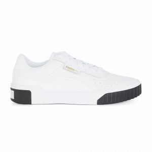 Puma Cali Wn's, Baskets Basses Femme, Blanc (White Black 04), 40 EU