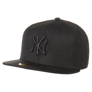 A New Era 59FIFTY Black Black NY Yankees by casquette baseball