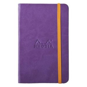 Rhodia 118650C Rhodiarama violet A6 - Webnotebook format 9 x 14 cm, 192 pages