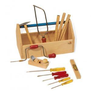 Pinolino Boîte avec outils en bois