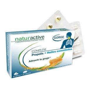 Naturactive Complexe Propolis 10 gélules + 10 capsules