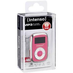 Intenso Lecteur MP3 Music Mover 8 Go rose clip de fixation