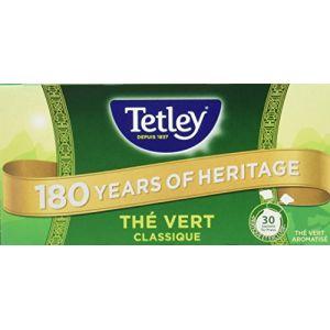 Tetley Thé vert aromatisé à la menthe
