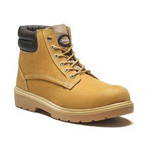 Dickies Chaussures de sécurité montantes Donegal S1P SRA Miel 42