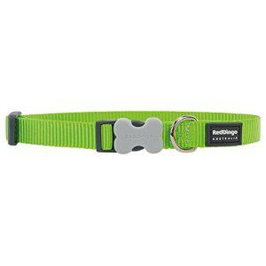 RedDingo Collier pour chien Vert Taille S