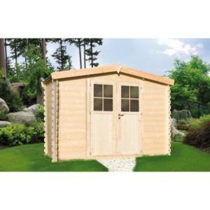 Chalet et Jardin CD703384 - Chalet de jardin en bois 19 mm 3 x 2 m