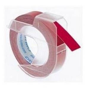 Dymo S0898150 - 3D Ruban de marquage, rouge, en boite, 9mm x 3m