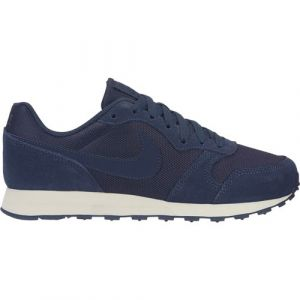 Nike MD Runner 2 PE (GS), Chaussures de Running bébé garçon, Bleu (White/Thunder Blue 400), 38.5 EU