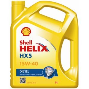 Shell Huile moteur Helix HX5 15W40 Diesel 5 L