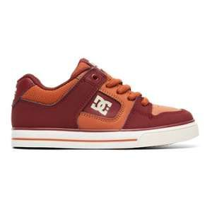 DC Shoes Pure - Baskets - Rouge