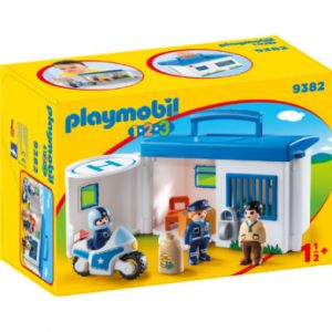 Playmobil 9382 - Commissariat de police transportable