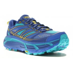 Hoka one one Mafate Speed 2 Chaussures de trail Femme, palace blue/bluebird US 8   EU 40 Chaussures trail