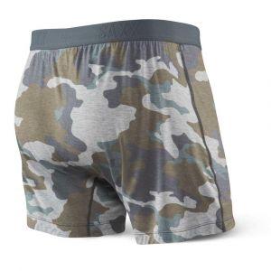 Saxx Underwear Vêtements intérieurs Free Agent Print Fly - Grey Supersize Camo - Taille S