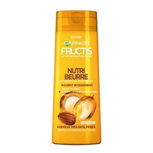 Garnier Fructis Nutri Beurre - Shampooing fortifiant cheveux très secs, frisés