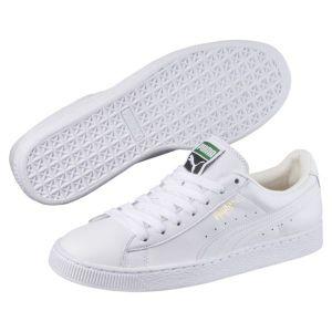 Puma Basket Classic LFS - Sneakers Basses - Mixte Adulte - Blanc (White/White 17) - 38 EU (5 UK)