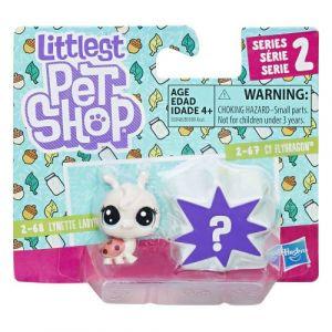 Littlest PetShop Duo mini figurines Série 2: Lynette Ladyfly et Petshop mystère