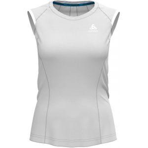 Odlo BL Zeroweight Ceramico - Débardeur running Femme - blanc L T-shirts course à pied
