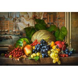 Castorland Puzzle Still Life with Fruits