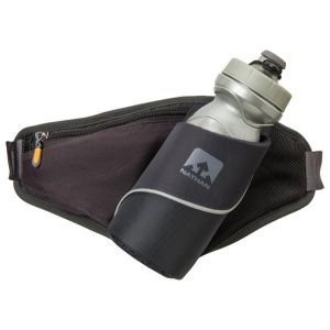Nathan Triangle Hydration Belt, black Vestes & Ceintures d'hydratation