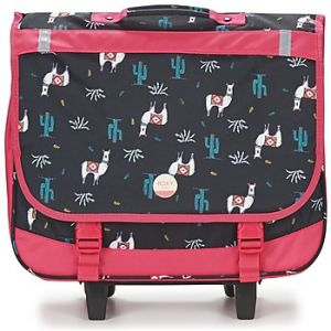 Roxy Cartable Green Monday Trolley 2 Compartiments + Trousse Noir