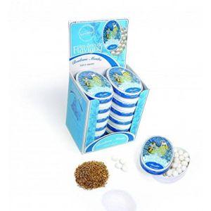 Bonbons à la menthe Bio - boîte ovale 50 g