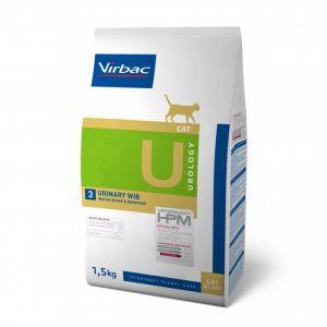 Virbac Vet Hpm Diet - Chat - U3 Urology, Urinary Wib - 1,5 Kg