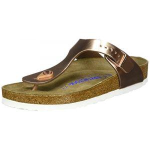 Birkenstock Gizeh Nl Wb W sandales cuivre 38 (normal) EU