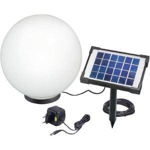 Esotec Boule lumineuse solaire avec led intégré