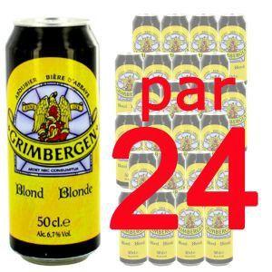Grimbergen Bière blonde d'Abbaye (24 x 50 cl) 6.7°