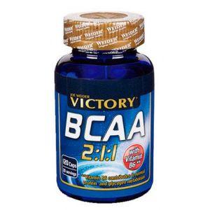 Victory endurance Acides aminés BCAA 120 gélules