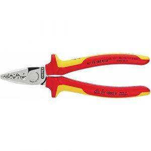 Knipex Pince à sertir pour embouts de câble, 180 mm - 97 78 180
